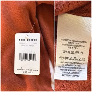 Free People Tops - nwt//free people be good terry pullover sweatshirt